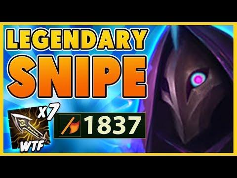 *1870+ AD* 7 ITEMS BROKE THE GAME (INFINITY EDGE) - BunnyFuFuu
