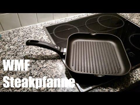 Grillpfanne Für Holzkohlegrill : Wmf steakpfanne review und test wmf grillpfanne youtube