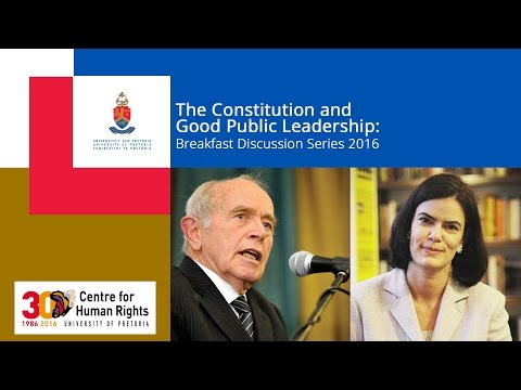 The South African Electoral System: Time to Revisit the Van Zyl Slabbert Report?