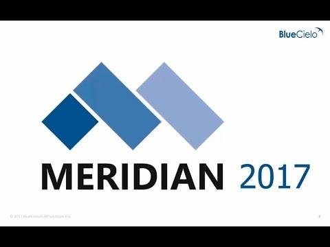 Novedades BlueCielo Meridian 2017 - Gestión documental