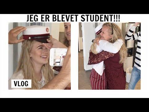 JEG ER BLEVET STUDENT!! //vlog