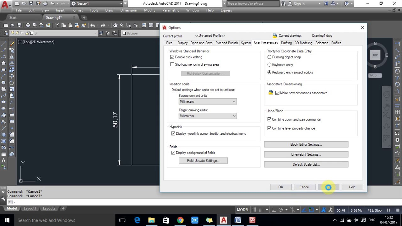 a346b1b9188 How to Right Click Customize In AutoCAD 2017 - YouTube