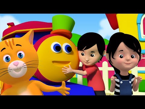 Rig ein Jig Jig | Bob der Zug | Kinderreime für Kinder | Baby Rhymes | Bob Train Rig A Jig Jig