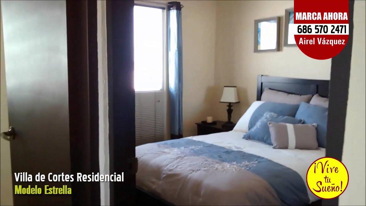 Villa de cortes residencial modelo estrella youtube for Mar villa modelo
