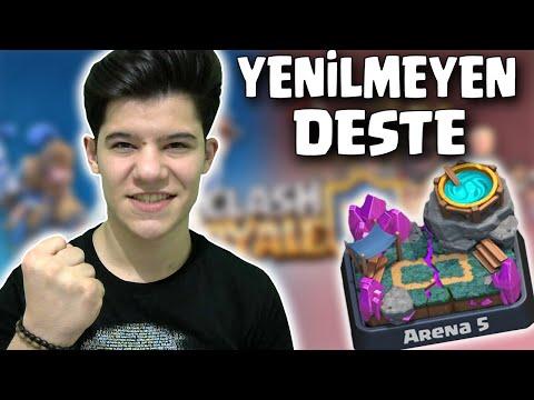 ARENA 5'de YENİLMEYEN DESTE !!! - Clash Royale