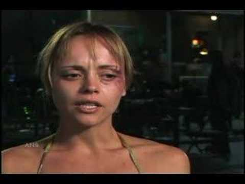 CHRISTINA RICCI NEARLY NAKED AND CHAINED FOR REALITY
