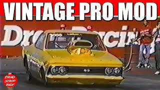 1990 -Part 12   Best of Famoso Raceway Vintage Pro Mod Nostalgia Drag Racing Bakersfield, CA
