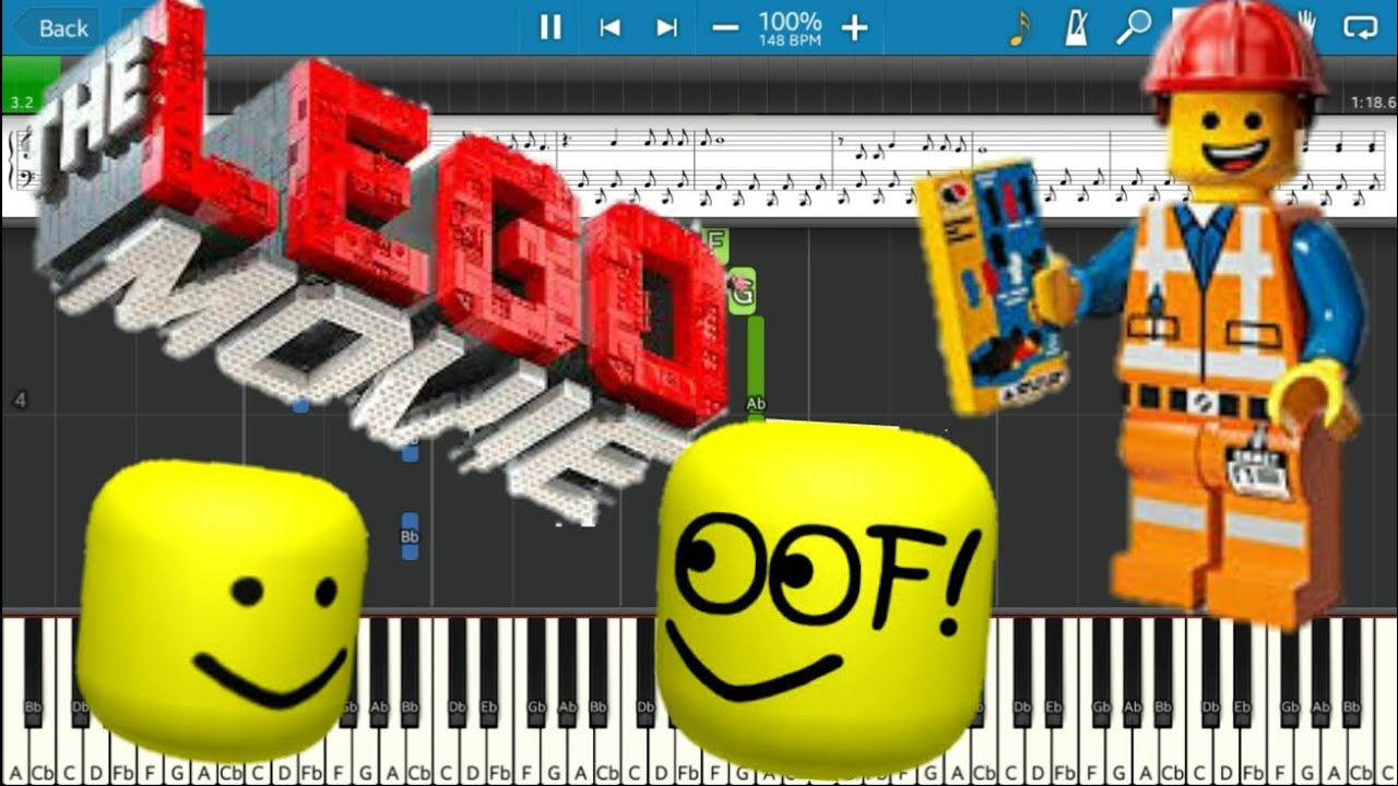 The Lego Movies Everything Is Awesome But Its Roblox Death Sound