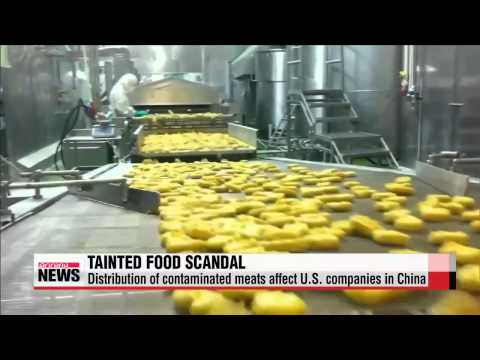 China's tainted food scandal hits U.S. companies