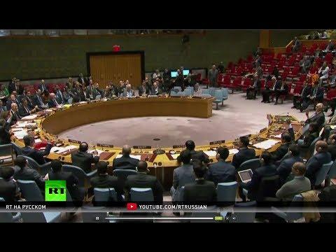 Россия заблокировала резолюцию США по расследованию химатак в Сирии в Совбезе ООН