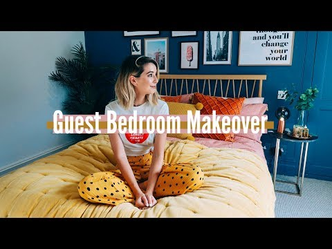 GUEST BEDROOM MAKEOVER | BEFORE & AFTER | AD
