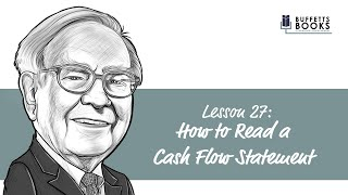 27. How to read a cash flow statement