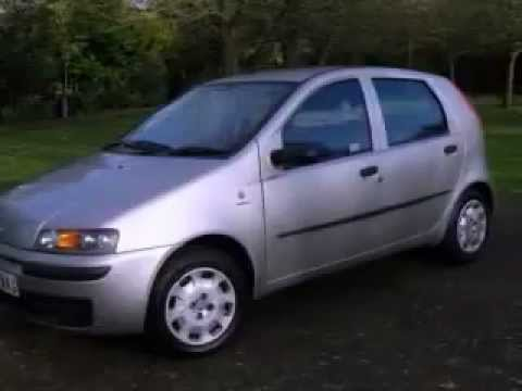 2003 fiat punto 1 2 active 5 door youtube. Black Bedroom Furniture Sets. Home Design Ideas