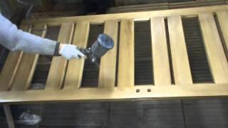 Покраска дверей(Покраска и лакировка дерева http://youtu.be/IHWPQqZYp1c В этом видео я покажу как покрасить деревянную дверь и вскрыть..., 2015-02-28T20:20:48.000Z)
