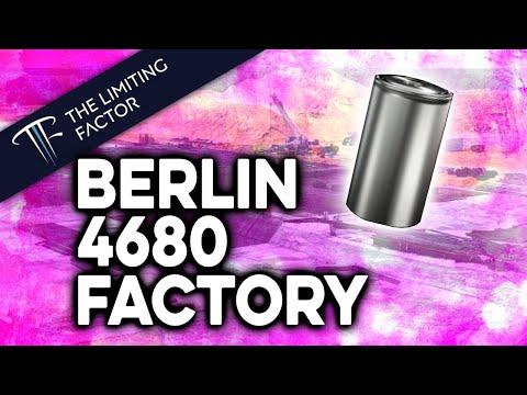 Berlin 4680 Factory Progress // The Construction Application