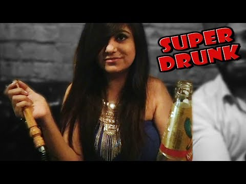 THIS GIRL GOT SUPER DRUNK IN THE PARTY | Delhi Vlogger