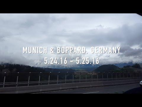 Travel | Europe: Munich & Boppard, Germany