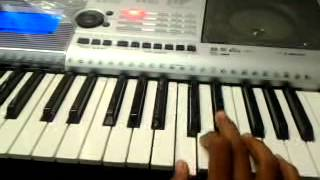how to play Chennai express theme music in piano