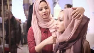 Live Hijab Tutorial and Style Tips with Ruba Zai & LookaMillion