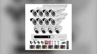 Eyedea security high quality CCTV security camera video surveillance system for business & home safe