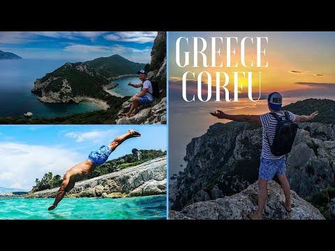 One week in Corfu, Greece 2018. | Travel video | Gopro travel |