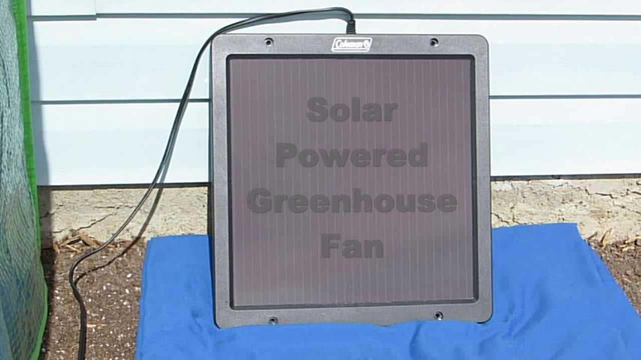 Solar Panels For Greenhouse Heater Shapeyourminds Com