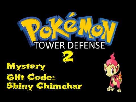 Pokemon Tower Defense 2 - Mystery Gift Code - Shiny Chimchar