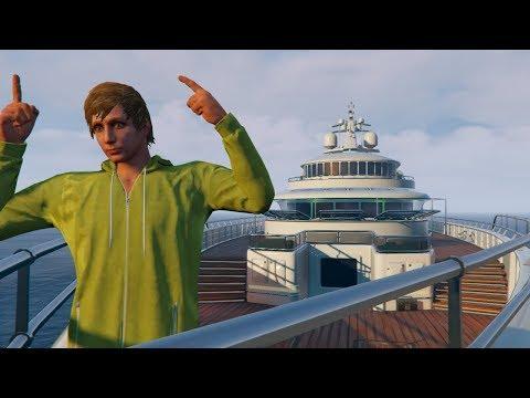 REVIEW DE MI NUEVO SUPER YATE! BEBE VITA EN GTA 5 ONLINE   GRAND THEFT AUTO V PC JUEGO GRATIS