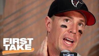 Matt Ryan Not 'Willful' During Super Bowl Loss | First Take | April 12, 2017