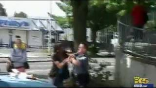 Seattle Police Officer Punches Teenage girl in face.. Police Brutality or Justice??