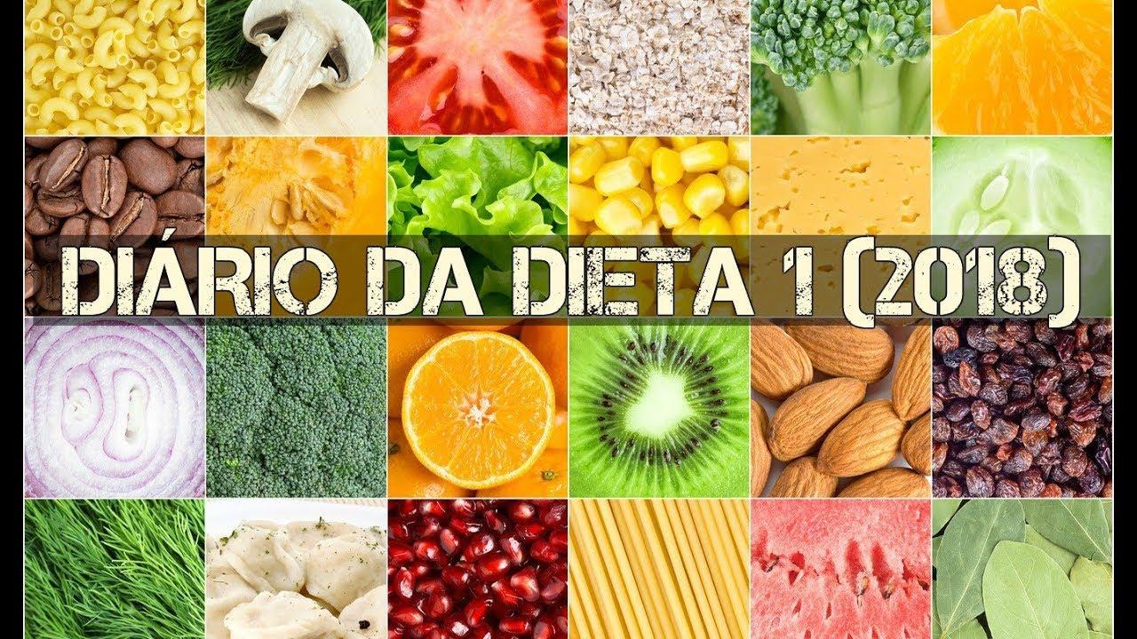 Diario da dieta 2018