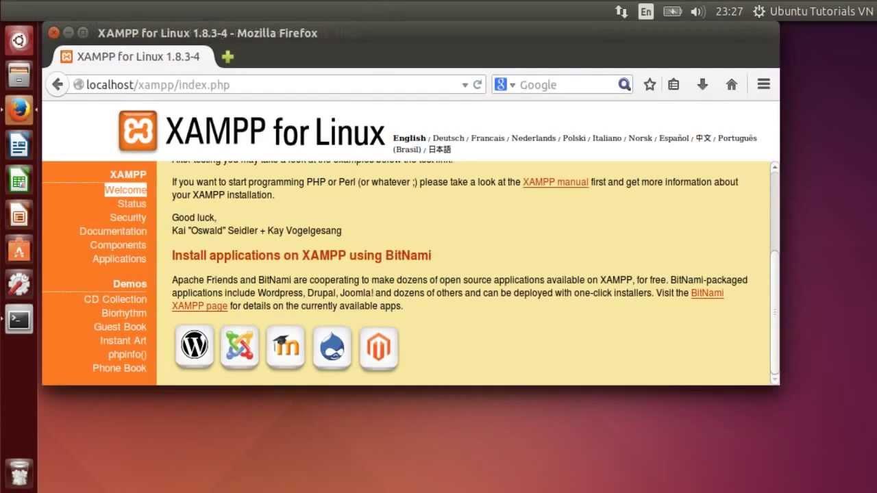 xampp pour ubuntu 14.04