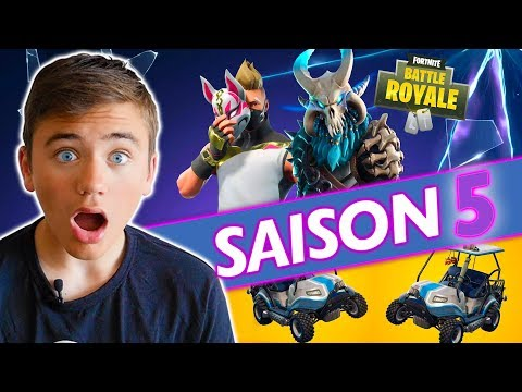 LA SAISON 5 EST ENFIN LÀ !!! -  FORTNITE BATTLE ROYALE - Néo The One