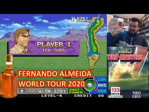 FERNANDO ALMEIDA WORLD TOUR 2020 || Neo Turf Masters (NEOGEO) || Gameplay En Español