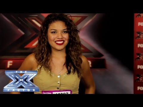 Yes, I Made It! Sabreena Venegas - THE X FACTOR USA 2013