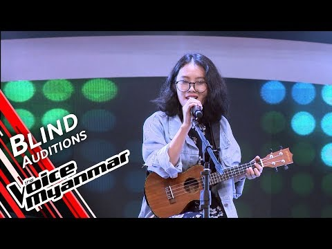 Khine - Can't Take My Eyes Off You (Frankie Valli) | Blind Audition - The Voice Myanmar 2019