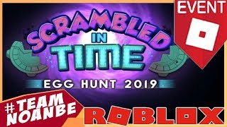 Nuevo evento Roblox Egg Hunt 2019: Scrambled In Time | Trailer y juegos