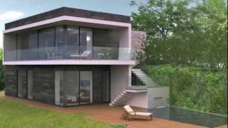Padenghe sul Garda, Villa Moderna a Lago, con Piscina