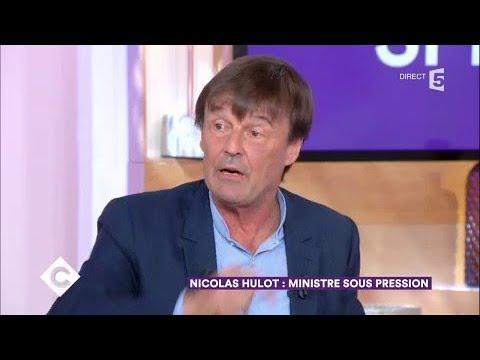 Nicolas Hulot : ministre sous pression - C à Vous - 23/10/2017