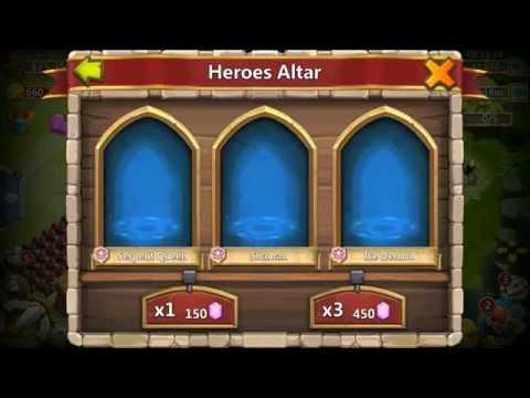 Castle Clash Treantaur Update Rolling 30000 Gems  ALOT OF ACTION