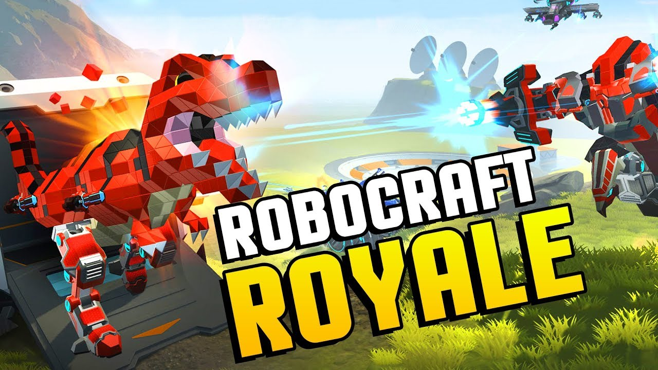 ROBOCRAFT BATTLE ROYALE! Robocraft Meets Fortnite! Mechs ...
