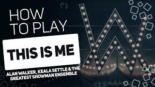 This Is Me - Alan Walker, Keala Settle & The Greatest Showman Ensemble | SUPER PADS KIT ME