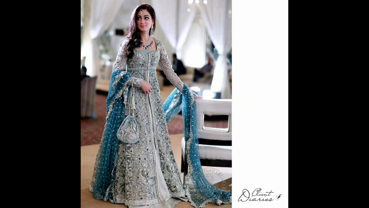Pakistani Maxi Style Wedding Dress