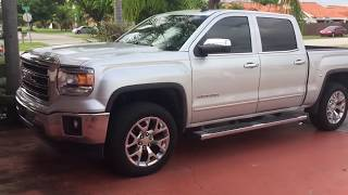 "GMC Sierra / Chevy Silverado 2"" Leveling Kit Install ( Easiest Fastest Way )"