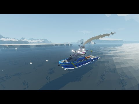 Stormworks: Build and Rescue. Nordland class multipurpose vessel walkaround.