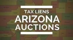 Real Estate Tutorial: Arizona Tax Liens