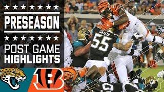 Jaguars vs. Bengals | Game Highlights | NFL