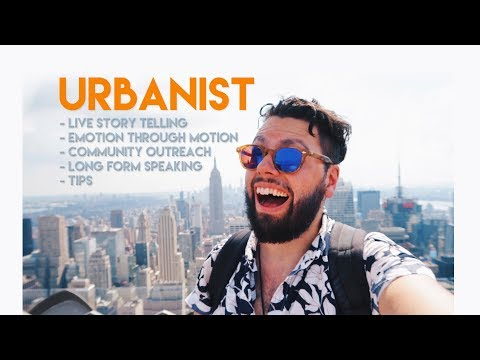 The Art of LIVE Story Telling with Urbanist