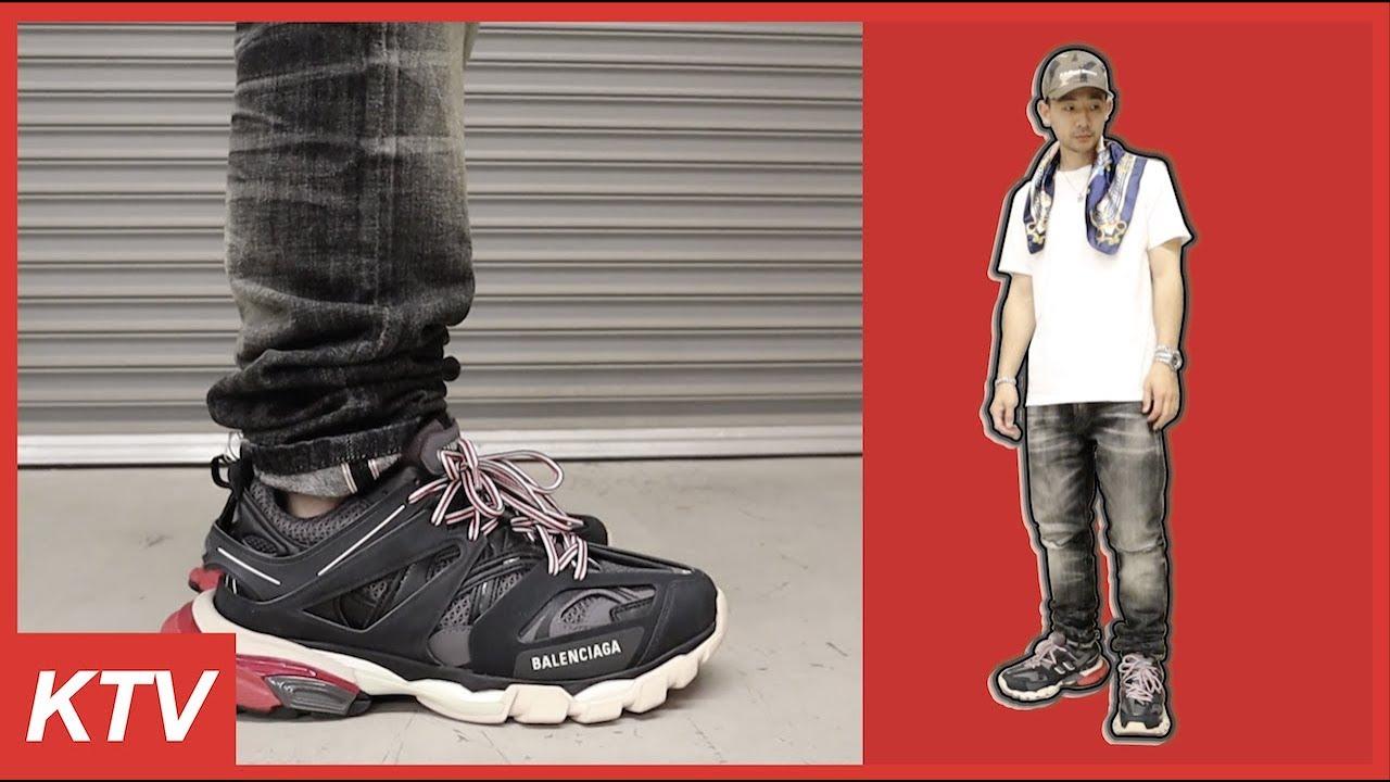 Balenciaga Track ALL BLACK + ON FOOT