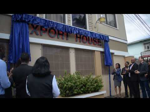 Official Unveiling of EXPORT HOUSE, 151B Charlotte Street POS